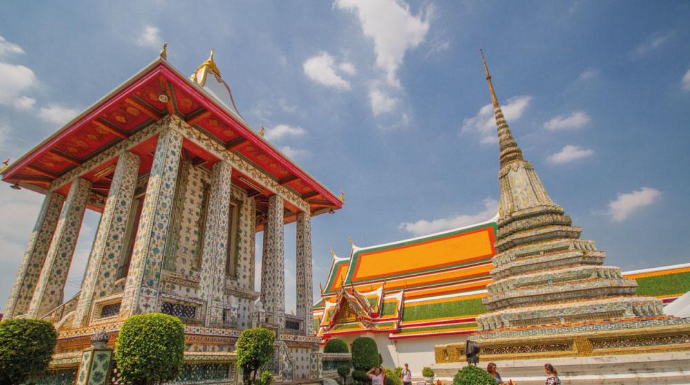 Bangkok temple.